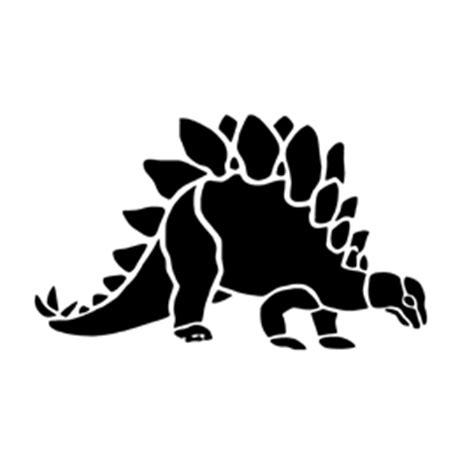 dinosaur stegosaurus stencil  stencil gallery