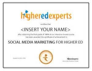 Diploma Of Social Media Marketing by Social Media Marketing For Higher Education Social Media