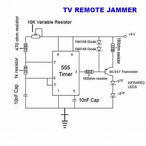 Tv Remote Jammer   4 Steps  With Pictures