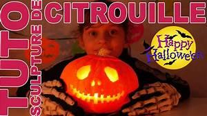 Une Citrouille Pour Halloween : tuto sculpter une citrouille pour halloween halloween ~ Carolinahurricanesstore.com Idées de Décoration