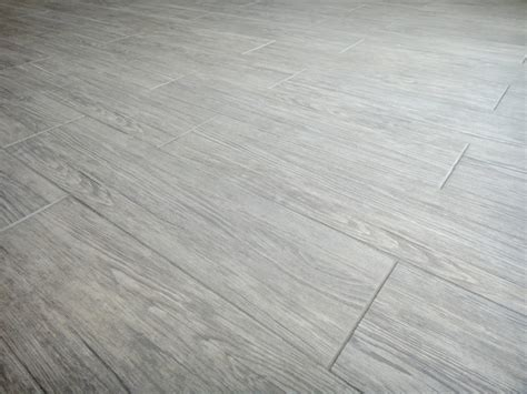 gray plank tile grey wood look porcelain tile for floor small bathroom design idea