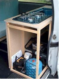 Campervan Conversion   The kitchen