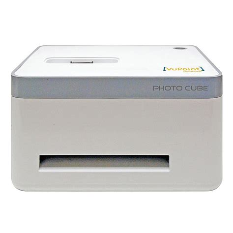 iphone photo cube printer vupoint solutions photo cube portable iphone photo printer