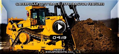 caterpillar d11t track type tractor features and benefits heavy equipment