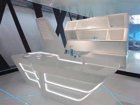 futuristic kitchen designs designs corian exhibition acrylic construction 1146
