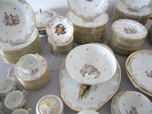 Service De Table Porcelaine : limoges partie de service de table en porcelaine ~ Teatrodelosmanantiales.com Idées de Décoration