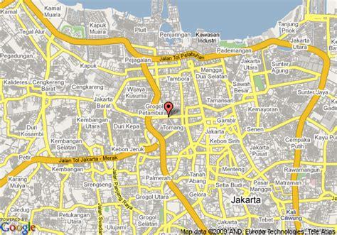map  shangri la hotel jakarta jakarta