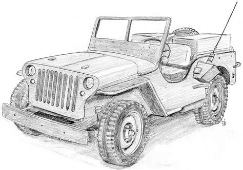 coloriages  imprimer jeep numero