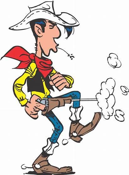 Luke Lucky Cowboy Comics Helden Zum Comic