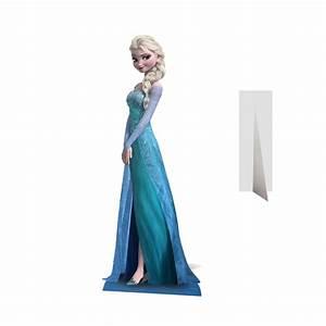 Elsa Reine Des Neiges En Carton Taille Relle