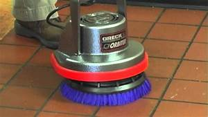 Oreck Orbiter Floor Machine Tile Cleaning