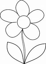 Flower Coloring Daisy Draw Flowers Drawing Pages Simple Print Daisies Clipart Step Outline Mosaic Drawings Clip Printable Easy Colornimbus Cliparts sketch template