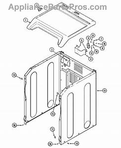 Parts For Maytag Mde6000ayw  Cabinet Parts
