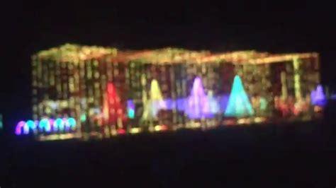light show illuminate light show at santa s in doswell Illuminate
