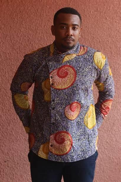 African Leone Sierra Olu Shirt Introducing Saint