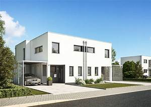 Häuser Im Bauhausstil : doppelhaus linum doppelhaus im bauhausstil ~ Watch28wear.com Haus und Dekorationen