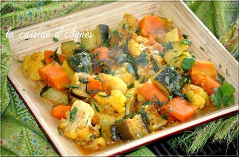 legume cuisiné méli mélo de légumes à l 39 indienne la cuisine d 39 agnèsla cuisine d 39 agnès