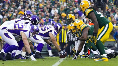 nfl playoffs wildcard  vikings  packers open game