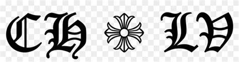 chrome hearts  louis vuitton logo death note hd png