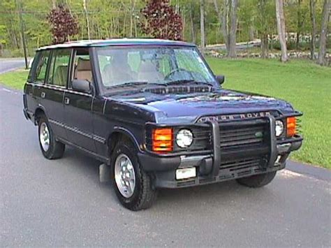 Land Rover Range Rover Modification by Rangeinblue 1995 Land Rover Range Rover Specs Photos