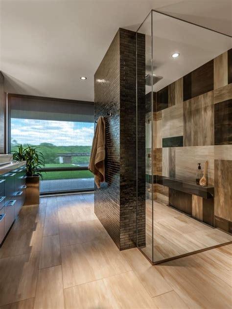 bad mit dusche modern gestalten  ausgefallene ideen