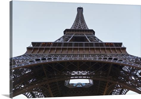 eiffel tower  angle front view photo canvas print