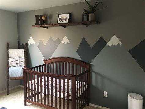 Baby Boy Outdoor Mountain Nursery Baby Room Mountains