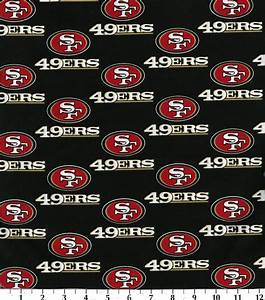 San Francisco 49ers NFL Cotton Fabric at Joann com