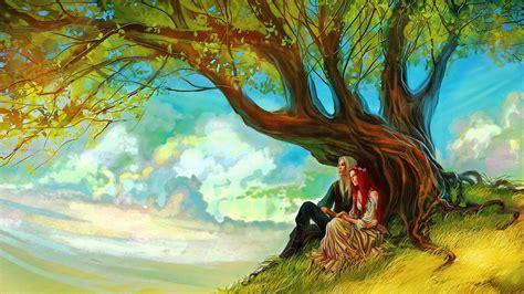 elf lovers hd wallpaper background image
