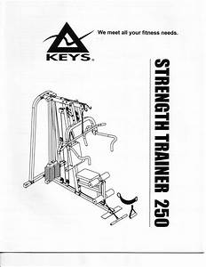 Strength Trainer St-250 Manuals