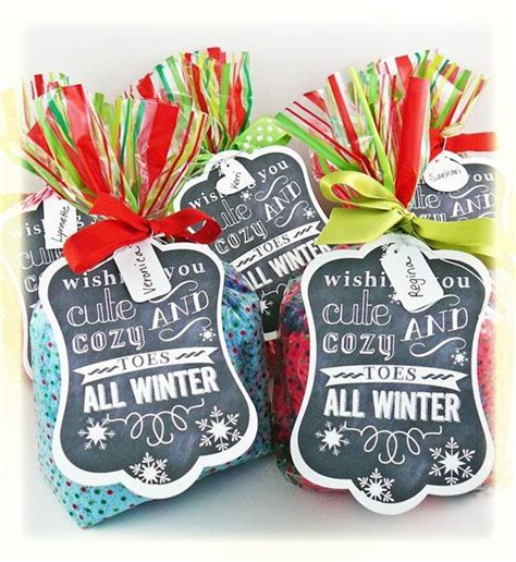 christmas gift ideas with socks favorite pins friday free printable cozy and