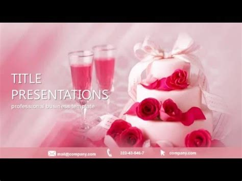 wedding planners powerpoint template  youtube