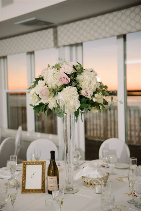 Blush And White Wedding Ideas Blush Roses Hydrangea