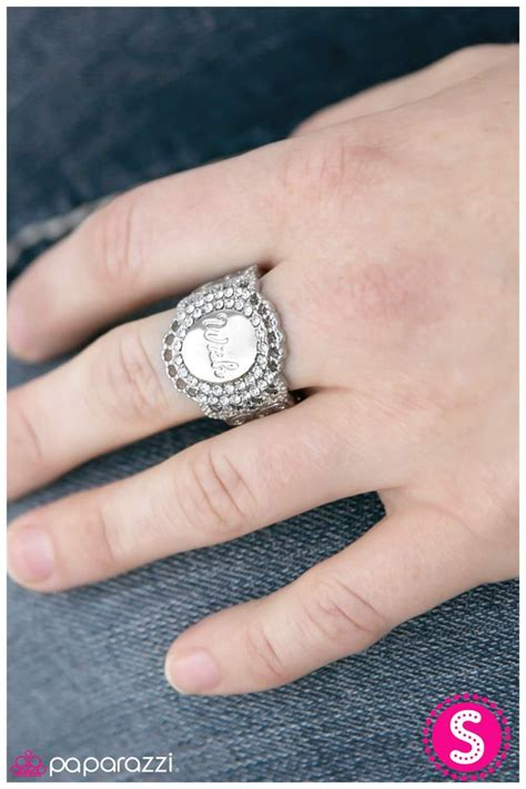Paparazzi Accessories Wishin And Hopin  White. 18 Carat Wedding Rings. Broken Rings. Crescent Moon Engagement Rings. Girlfriend Rings. Off White Rings. Colourful Rings. Handmade Jewelry Rings. Country Girl Wedding Rings