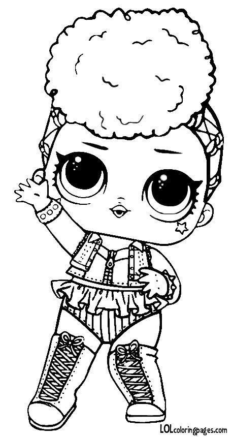 lol dolls coloring pages  getcoloringscom