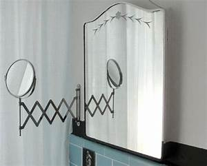 reversible swing arm polished chrome bathroom mirror pull With pull out mirror bathroom