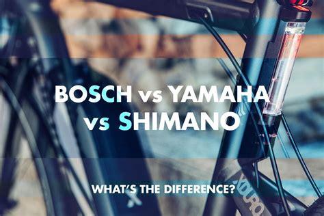 Electric Bikes -bosch Vs Yamaha Vs Shimano -what's The