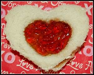 Peanut Butter and Jelly Hearts :: Perfect for Valentine's Day