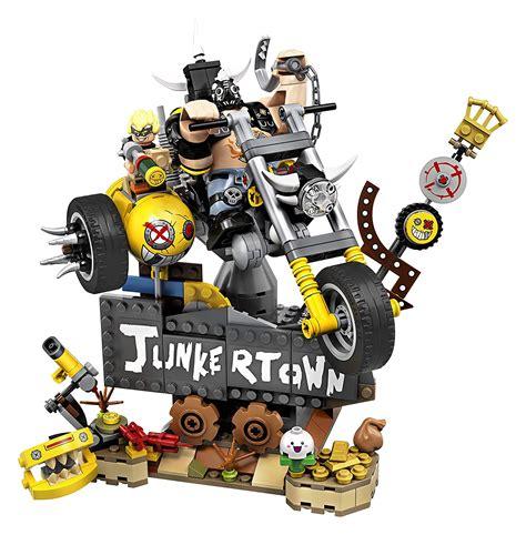 brickfinder  lego overwatch sets bring junkrat