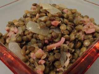 cuisiner des lentilles en boite 3 recettes de lentilles