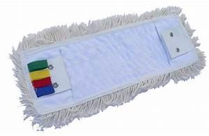 Balai Plat Microfibre : frange de lavage plat languettes et poches 40 cm ~ Edinachiropracticcenter.com Idées de Décoration