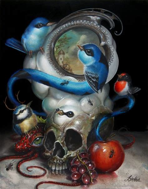 focus surreal acrylic paintings  greg craola