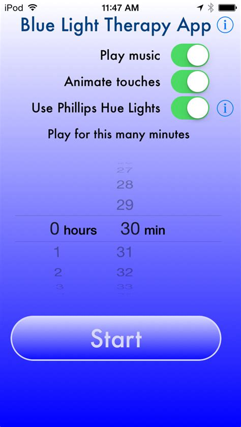 blue light app blue light therapy apps for hue
