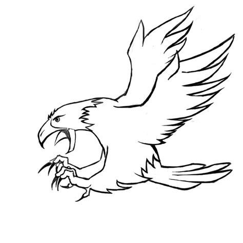 10 mewarnai gambar burung elang