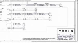 Tesla Model S Service Manual  Wiring Diagram - Mhh Auto
