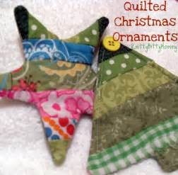 knittybittymommy quilted christmas ornament tutorial