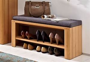 Schuhregal Mit Bank : woodtree schuhbank bank garderobe kernbuche real ~ Whattoseeinmadrid.com Haus und Dekorationen