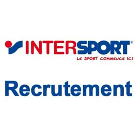 intersport siege intersport recrutement espace recrutement
