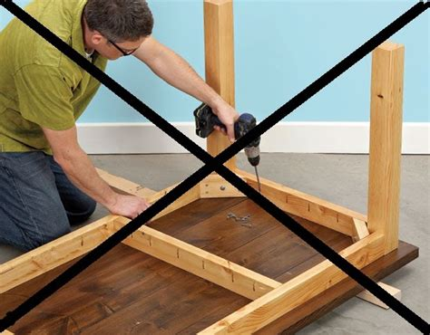 how to make desk legs follow your heart woodworking please don 39 t make a table