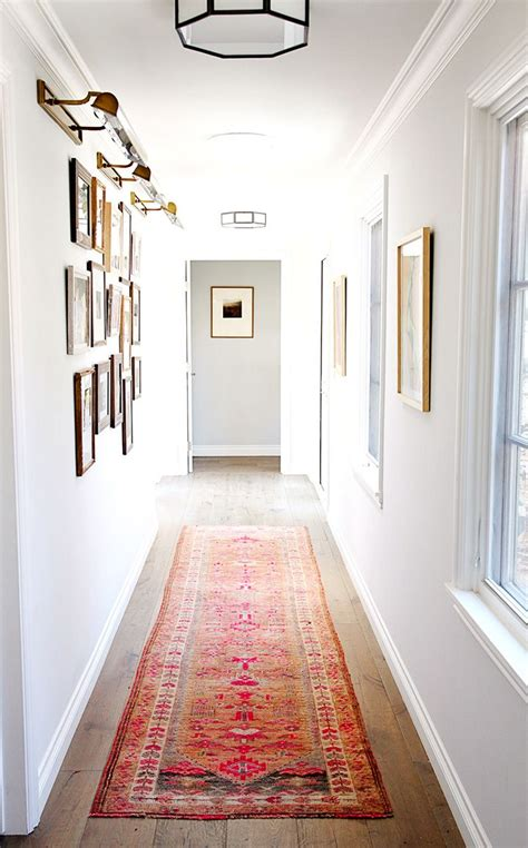 color trends 2018 hallway rug white interior house paint